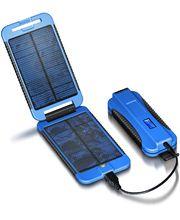 Powermonkey eXtreme (modrá) - solární outdoorová záložní nabíječka 9000mAh