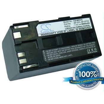 Baterie pro Canon BP-970, 6600mAh