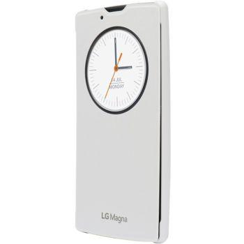 LG flipové pouzdro QuickCircle CCF-605 pro LG Magna, bílá