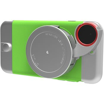 Ztylus Revolver Metal sada objektivů pro iPhone 6S/6, zelený