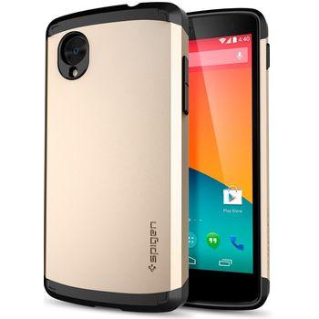 Spigen pouzdro Slim Armor pro Nexus 5, zlato-černá