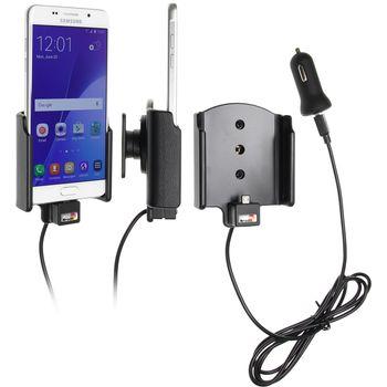 Brodit držák do auta na Samsung Galaxy A5 (2016) bez pouzdra, s nabíjením z cig. zapalovače/USB