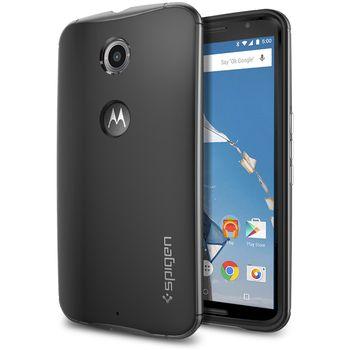 Spigen pevné pouzdro Neo Hybrid pro Motorola Nexus 6, šedá