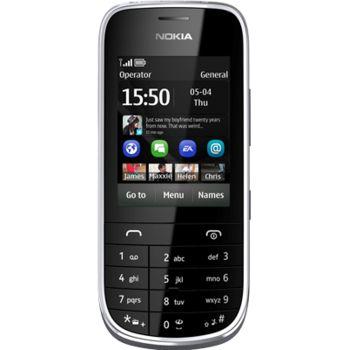 Nokia Asha 203 šedá