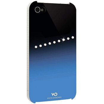 White Diamonds kryt Sash pro Apple iPhone 4/4S - modrá
