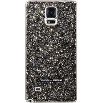 Samsung výměnný zadní kryt Swarovski EF-ON910RS pro Galaxy Note 4 (N910), stříbrný