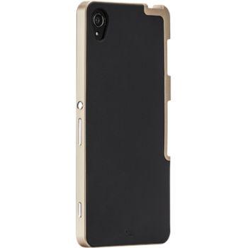 Case Mate ochranné pouzdro Slim Tough pro Sony Xperia Z3, černo-zlatá