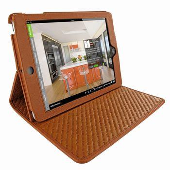 Piel Frama pouzdro pro iPad Mini Cinema Model, Ostrich Tan