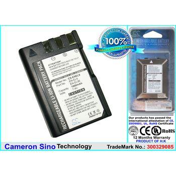 Baterie pro Nikon D5000, D3000, Li-ion 7,4V 1000mAh ekv. EN-EL9a