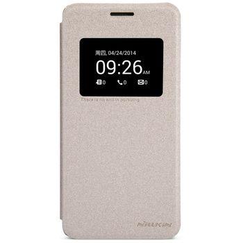 Nillkin flipové pouzdro Sparkle S-View pro Asus Zenfone 5, zlatá