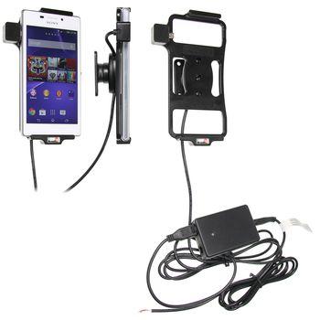 Brodit držák do auta na Sony Xperia M2 bez pouzdra, se skrytým nabíjením