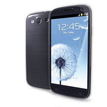 Pouzdro silikonové CELLY Gelskin pro Samsung Galaxy S III i9300, průhledné