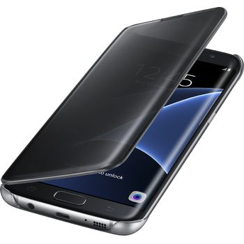 Samsung flipové pouzdro Clear View EF-ZG935CB pro Galaxy S7 edge, černé
