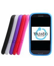 Silikonové pouzdro - Samsung Galaxy S III i9300 (modrá)