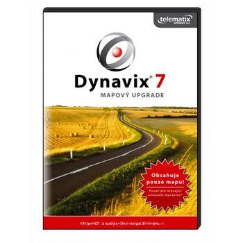 DYNAVIX 7 Visegrád UPDATE - podrobná mapa ČR, SK, PL a HU s průjezdní mapou Evrop