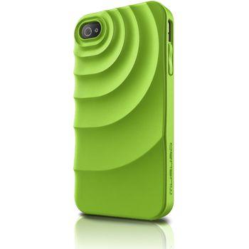 Musubo pouzdro Ripple pro Apple iPhone 4/4S - zelené
