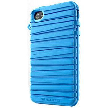Musubo pouzdro Rubber Band pro Apple iPhone 4/4S - modré