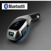 Bluetooth FM transmitter do autozapalovače, SD, USB