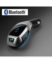 Bluetooth FM transmitter do autozapalovače, SD, USB
