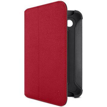 Belkin Bi-Fold Folio pouzdro pro Samsung Galaxy Tab 2 7.0, PU červená kůže (F8M386cwC02)