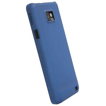 Krusell hard case - ColorCover - Samsung i9100 Galaxy S II (modrá)