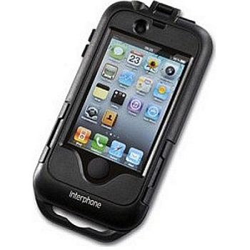 CellularLine Interphone - voděodolný držák/pouzdro na řídítka pro iPhone 4/4S
