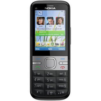 Nokia C5-00.2 5MP All Black - rozbaleno, plná záruka