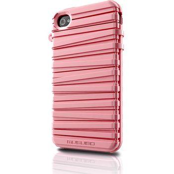 Musubo pouzdro Rubber Band pro Apple iPhone 4/4S - růžové
