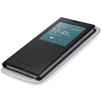 Samsung flipové pouzdro S-view s bezdrátovým nabíjením EF-TN900BW pro Note 3 bílé