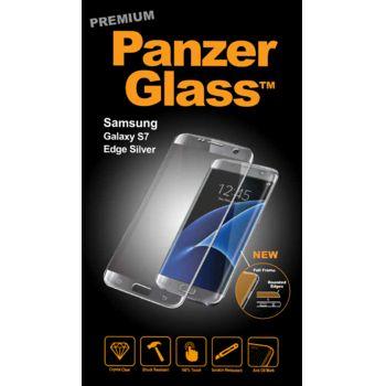 PanzerGlass ochranné Premium sklo pro  Samsung S7 edge, stříbrné