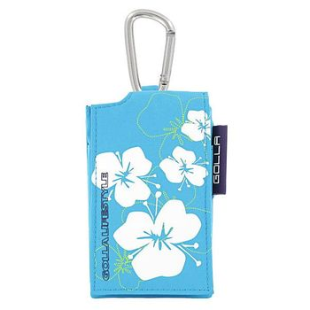 Golla mp3 bag pansy g859 turquoise 2010