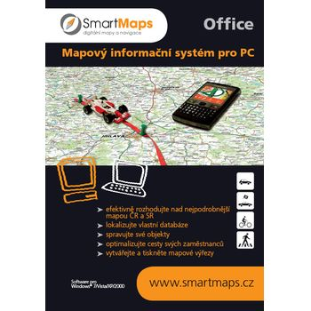 Smart Maps Office - Mapy ČR a SR pro PC