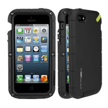 PureGear PX260 Extreme iPhone 5/5S - Matte Black, černá