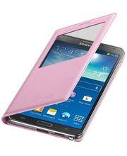 Samsung flipové pouzdro S-view EF-CN900BI pro Note 3 růžové