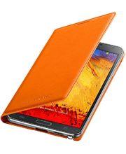 Samsung flipové pouzdro s kapsou EF-WN900BO pro Galaxy Note 3, oranžová