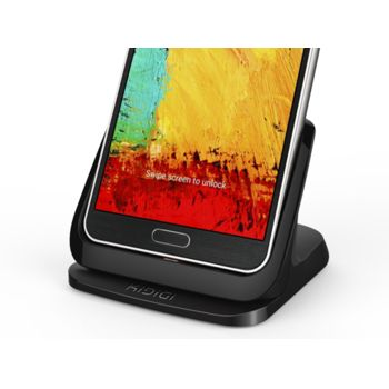 Kidigi dobíjecí a synchronizační kolébka pro Samsung Galaxy Note 3 N9005, černá