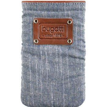 Bugatti Elements Patch slim case universal M (73 x 125mm) - modré