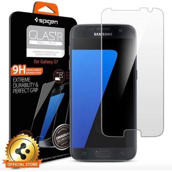 Spigen GLAS.tR SLIM prémiové ochranné sklo pro Galaxy S7