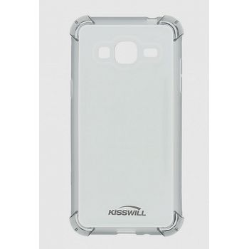 Kisswill Shock TPU pouzdro pro Samsung J120 Galaxy J1 2016, šedá