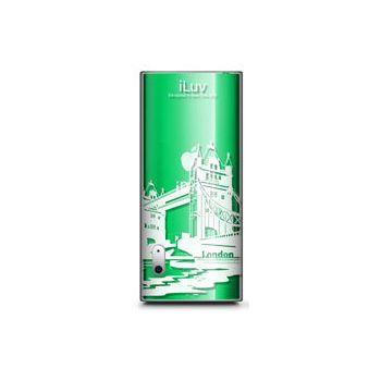 iLuv iCC306 plastový obal iPod nano 5g čirý Londýn