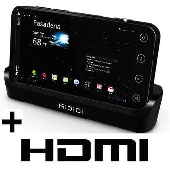 Kidigi dobíjecí kolébka pro HTC EVO 3D s HDMI výstupem