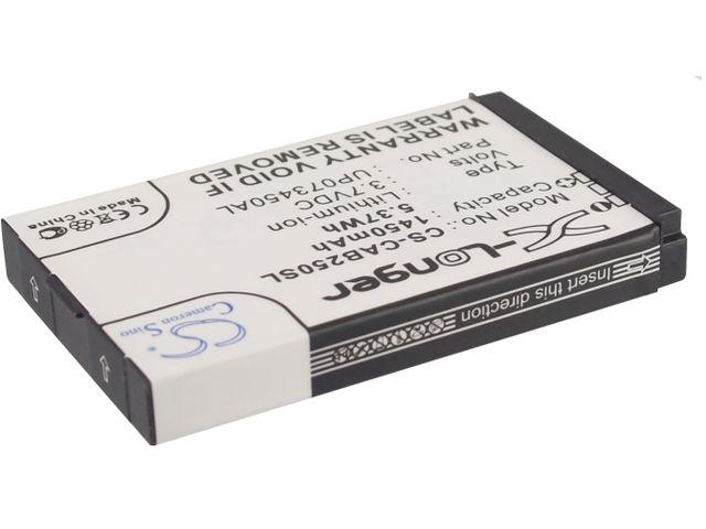 obsah balení Baterie pro Caterpillar CAT B25, 1450mAh li-ion + univerzální nabíječka baterií