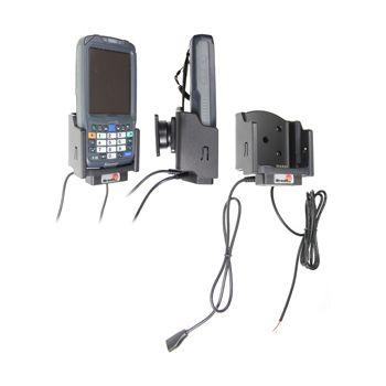 Brodit držák do auta na Intermec CN50 s USB OTG kabelem, se skrytým nabíjením