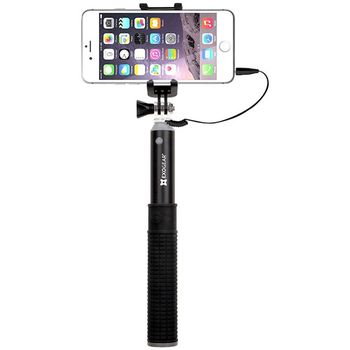 ExoGear ExoPod Selfie tyč s kabelovou spouští