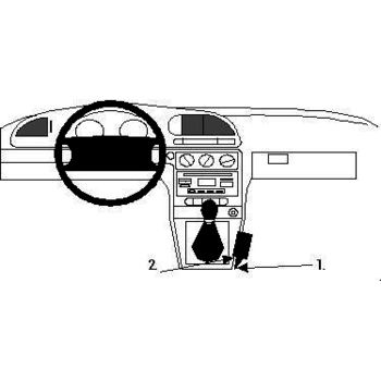 Brodit ProClip montážní konzole pro Ford Mondeo 97-00, na středový tunel