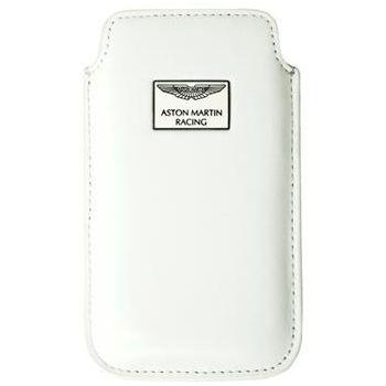 Aston Martin Racing Chic, kožené pouzdro, velikost XXL, bílé
