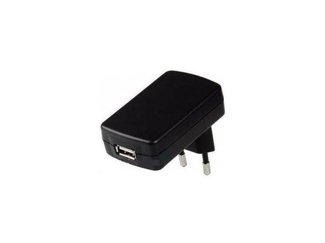 obsah balení Kidigi síťová nabíječka microUSB 500mA pro Samsung, Sony, Apple, HTC, ..