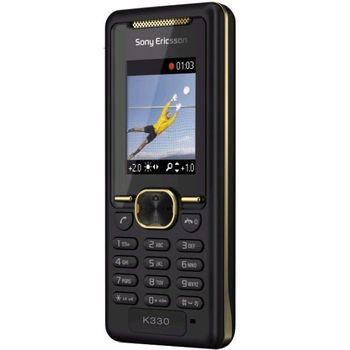 Sony Ericsson K330i Gold on Black