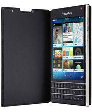 BlackBerry flipové kožené pouzdro pro BlackBerry Passport, černé