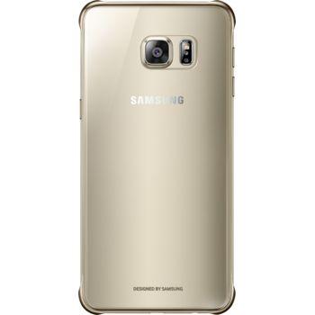 Samsung kryt Clear Cover EF-QG928CF pro Galaxy S6 edge+ (G928), zlatý